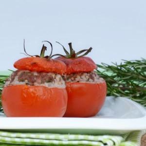 recette tomates farcies au riz de konjac shirataki konjac. Black Bedroom Furniture Sets. Home Design Ideas